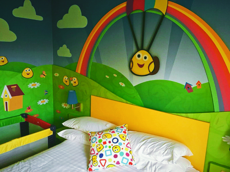 Cbeebies Land Hotel Bugbies Room