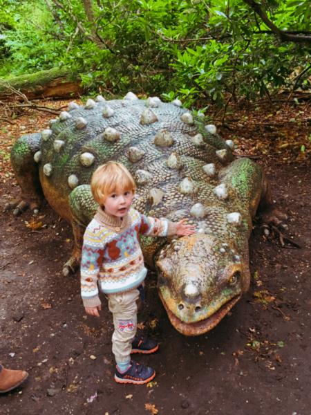 Ted on a Roarr! Dinosaur Adventure