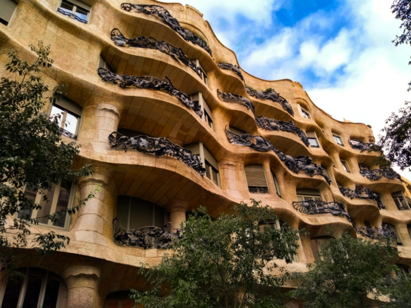 Barcelona with Kids Gaudi Apartments