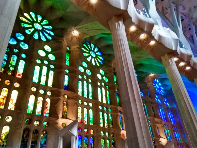 Ted's Favourite Thing - Sagrada Familia Light