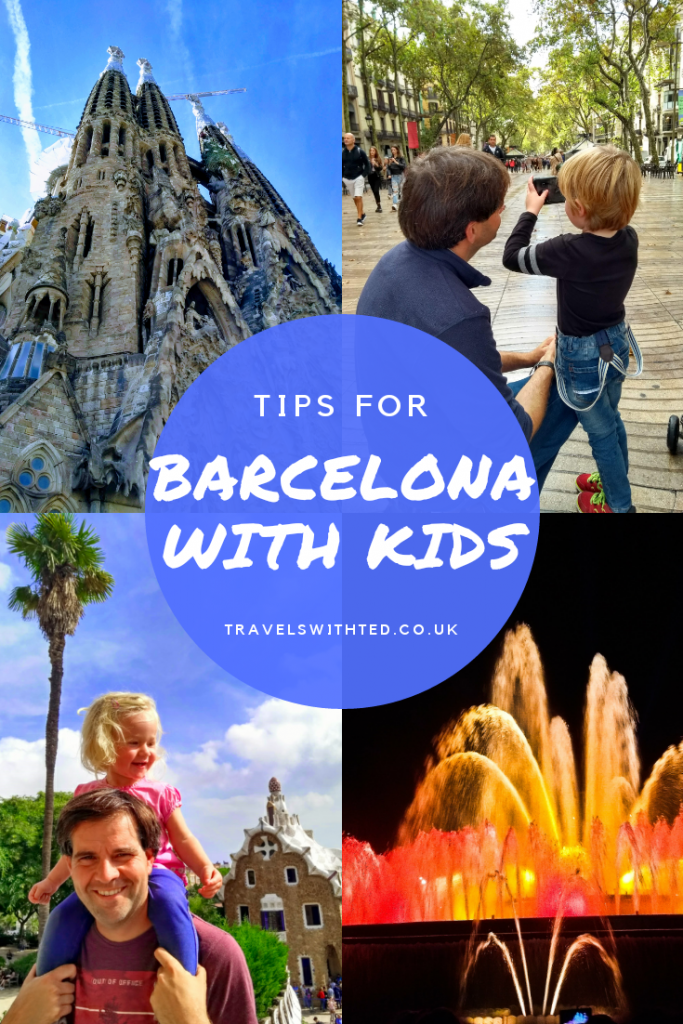 Barcelona with kids. Tips for activities with kids. 5 day itinerary for visiting Barcelona. #Barcelonawithkids #Barcelona