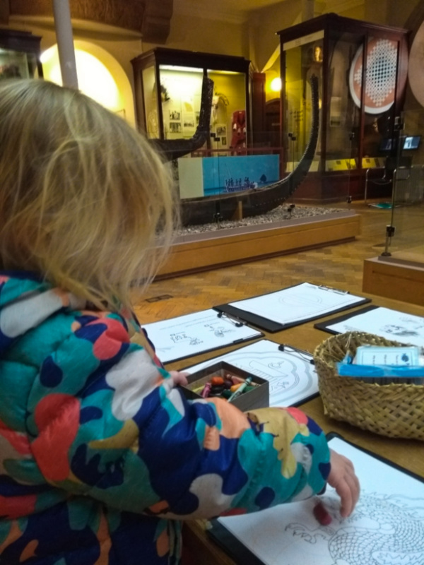 Museum Archaeology and Anthropology Colouring