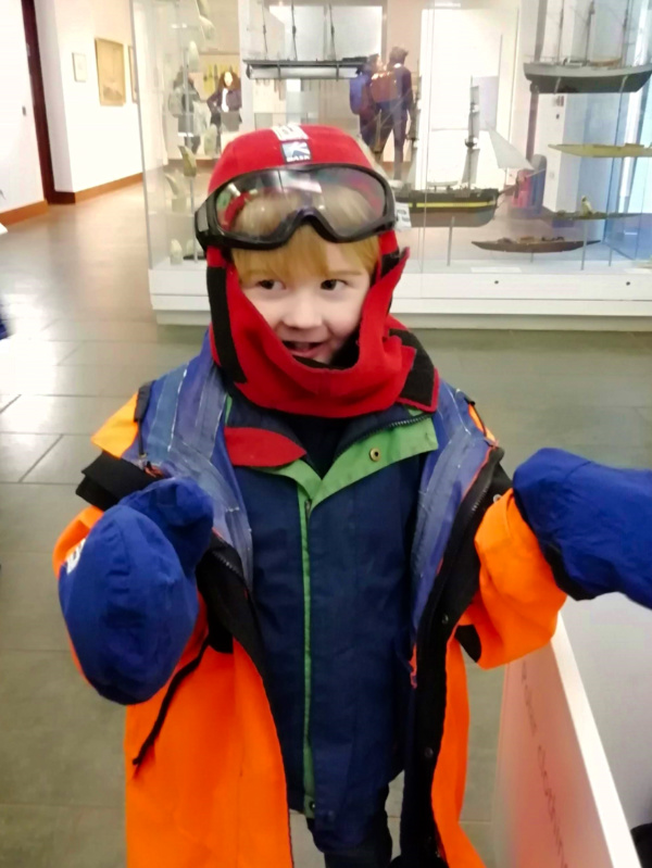 Scott Polar Museum Dress Up