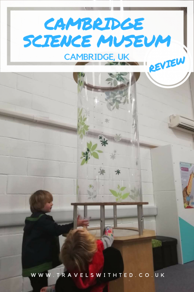 Review of the Cambridge Science Centre - the Cambridge science museum for kids. #cambridgewithkids #travelswithted