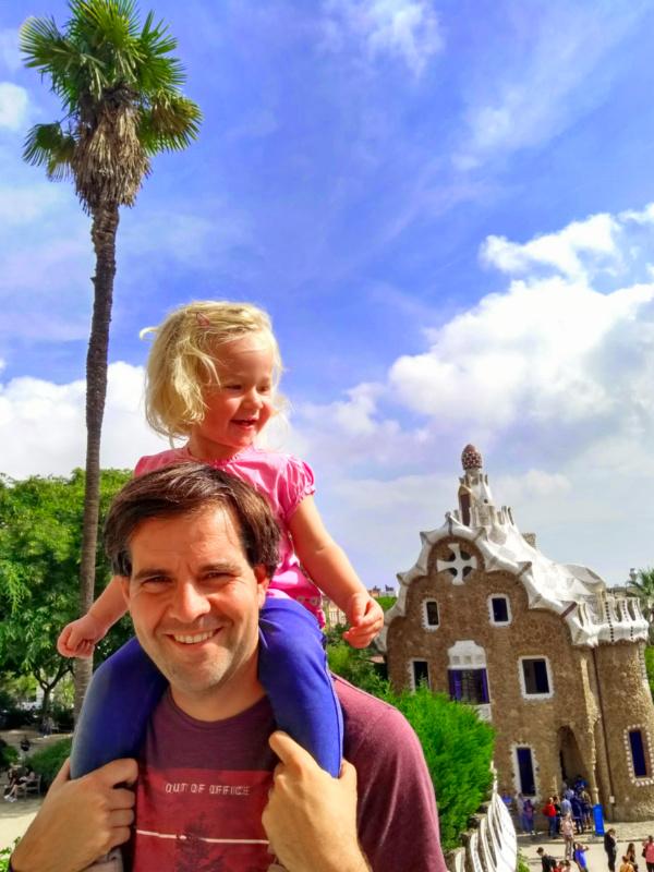 Park Güell with Kids and a House