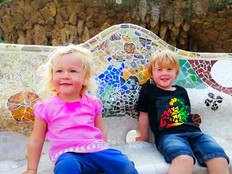 Park Güell with Kids