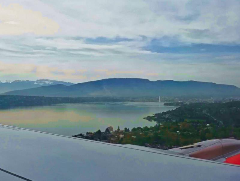 Geneva from the air