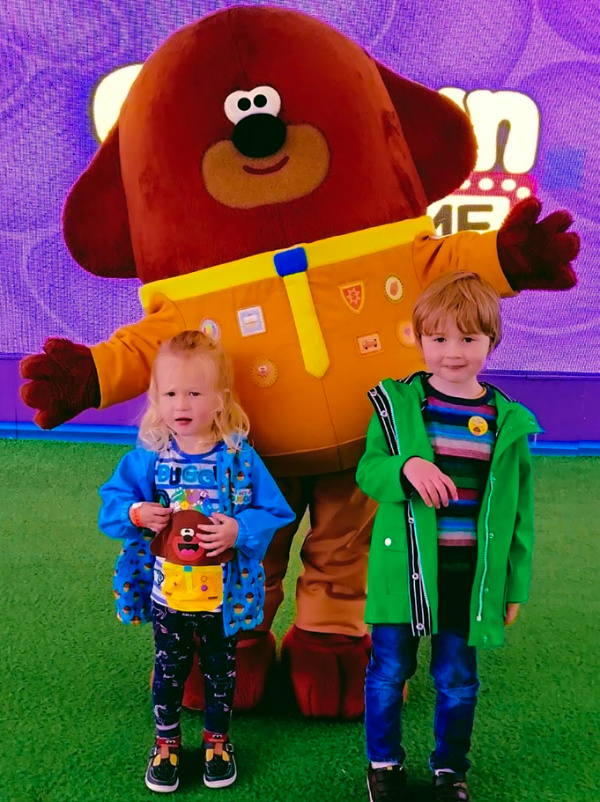 Cbeebies Land Hey Duggee Show