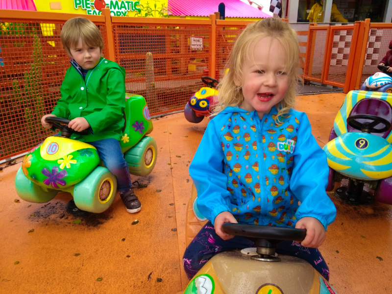 Cbeebies Land Rides  - Numtums Ride