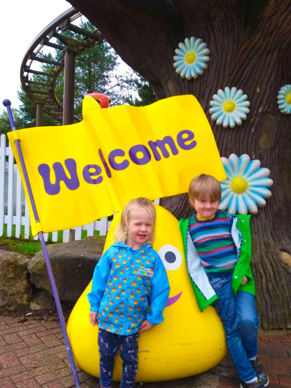 Cbeebies Land Welcome