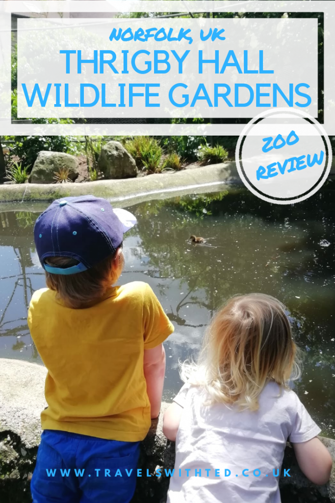 A zoo review of Thrigby Hall Wildlife Gardens in Great Yarmouth, Norfolk. A BIAZA zoo in East Anglia. #norfolkattractions #norfolk