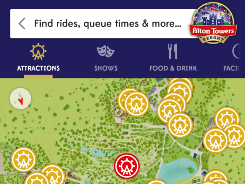 Alton Towers Queue Times App Review