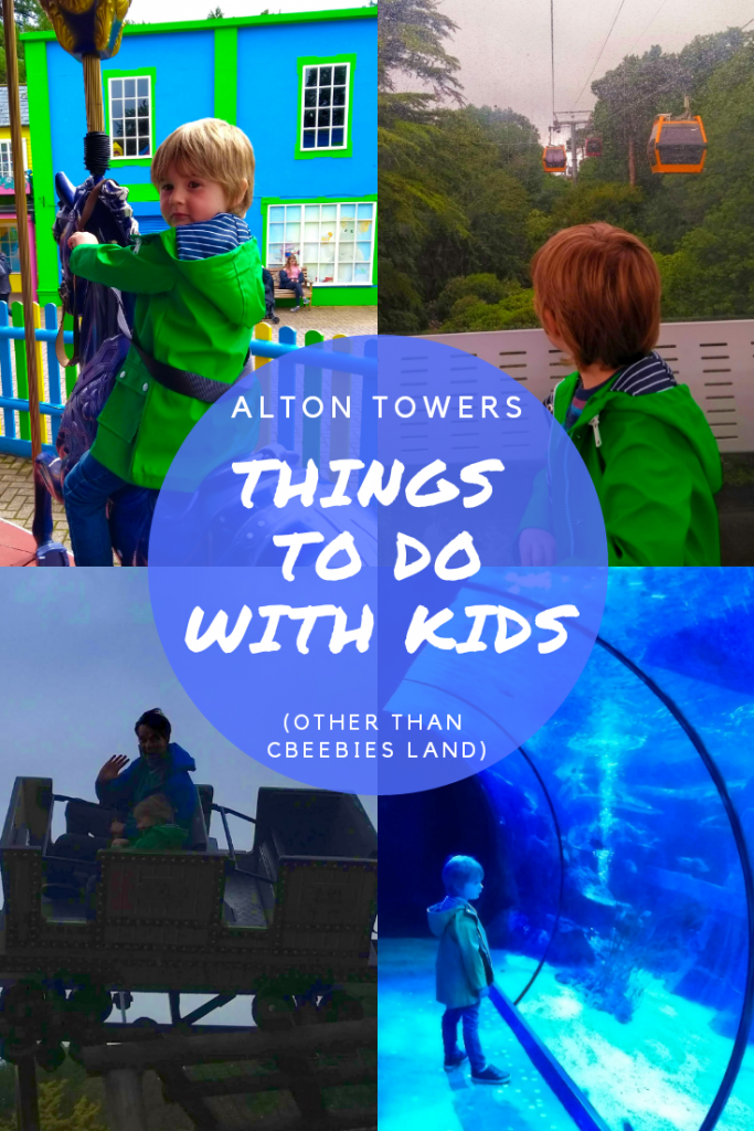 Things to do at Alton Towers Theme park with toddlers and young children other than CBeebies Land. Pirates, rollercoasters and children's rides. Sealife Centre. #altontowers