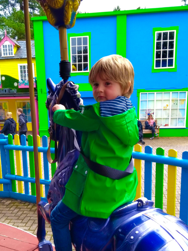 Alton Towers for toddlers - Galloper's Carousel