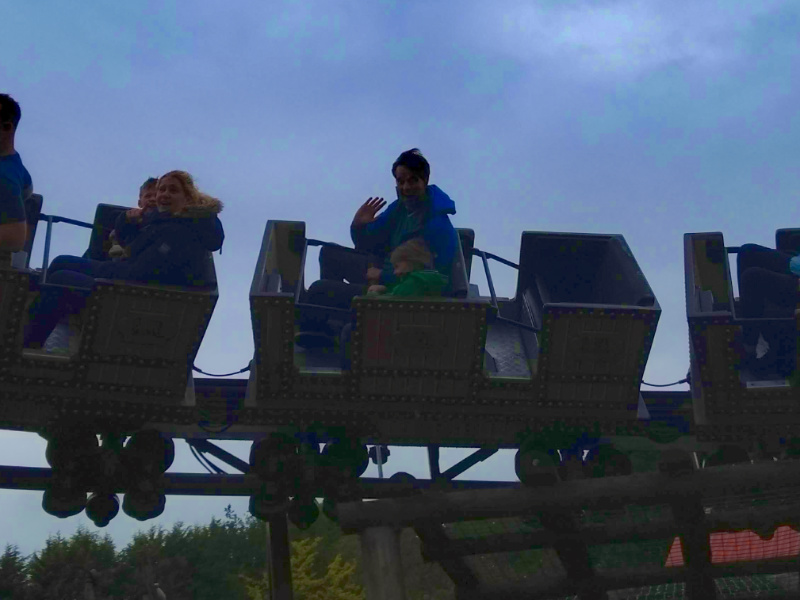Alton Towers for Toddlers - Runaway Mine Train