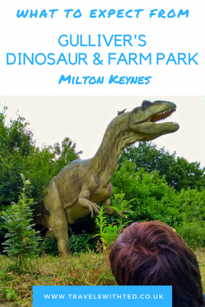 Gulliver's Dinosaur and Farm Park in Milton Keynes. What to expects from this extra park near the main Gulliver's Land Theme Park. All the fun things to do.