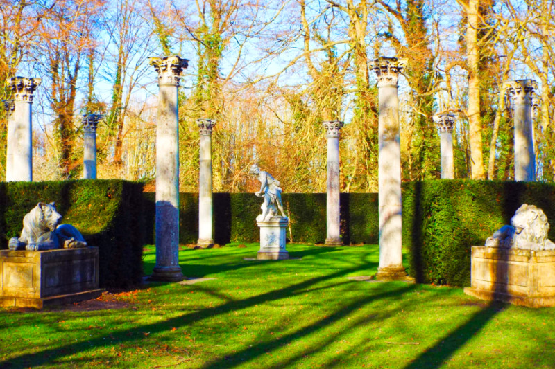 Temple Lawn at Anglesey Abbey