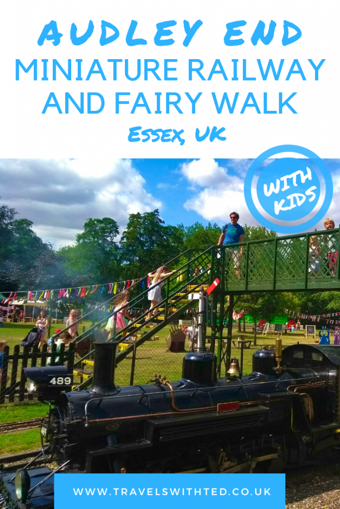 Audley End, Essex, UK Fairy Walk and Miniature steam railway