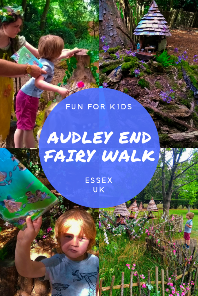 Visiting Audley End in Essex, UK. Fairy Walk and Miniature railway