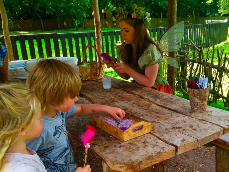 Wand Making at Audley End Fairy Walk