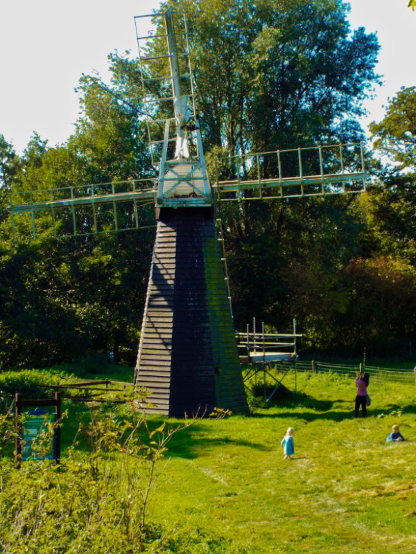 Windpump at Museum of East Anglian Life