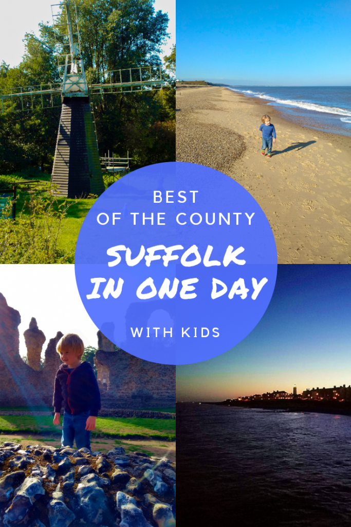 Suffolk Itinerary - Suffolk UK in one day. The very best of the county. Includes horses at Newmarket Gallops, the Abbey Gardens in Bury St Edmunds, Museum of East Anglian Life in Stowmarket, birdwatching at RSPB Minsmere and fish and chips at Southwold.
