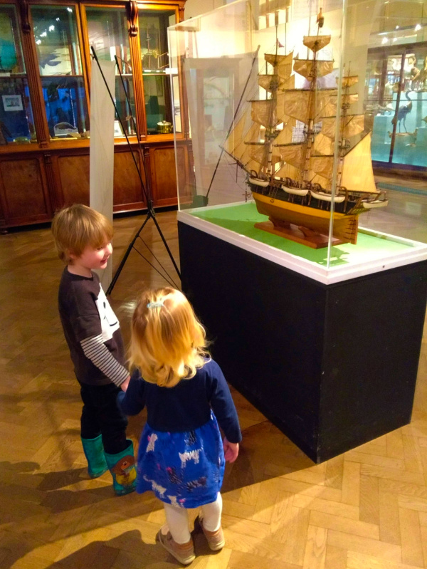 Whitby Museum for kids