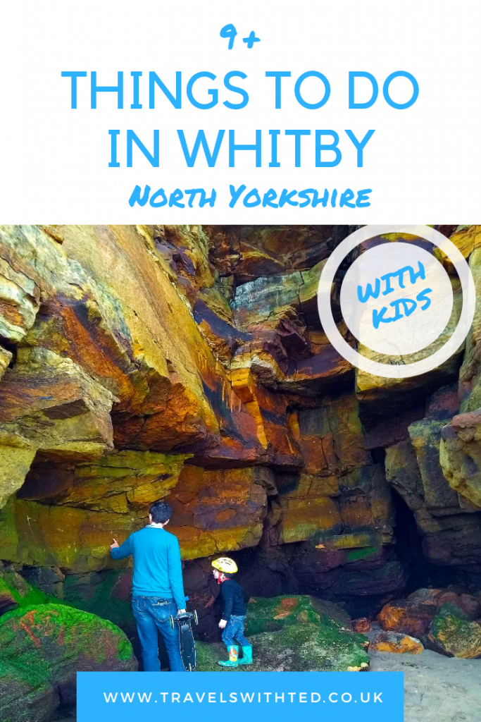 Unusual things to do in Whitby, North Yorkshire with kids. Fossil hunting, Dracula and more