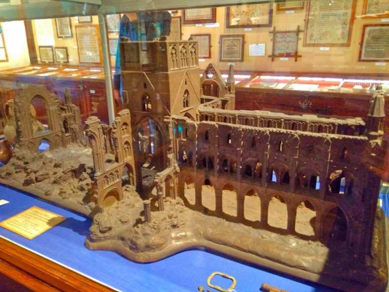 Model of Whitby Abbey