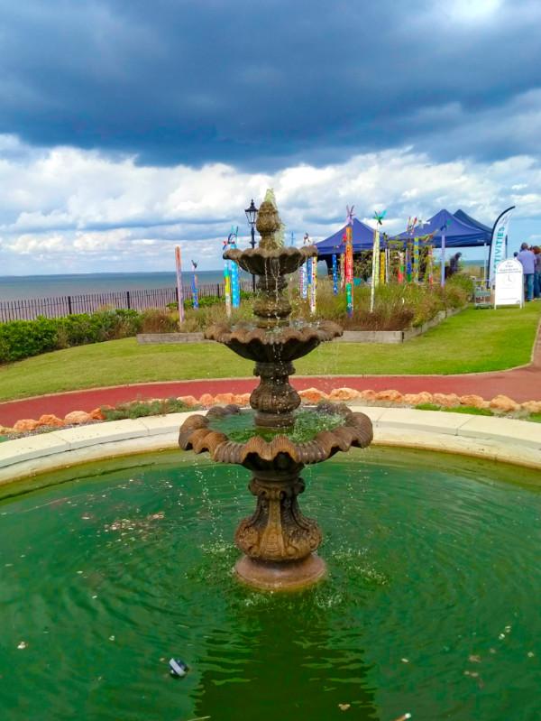 Fountain in Esplanade Gardens Hunstanton