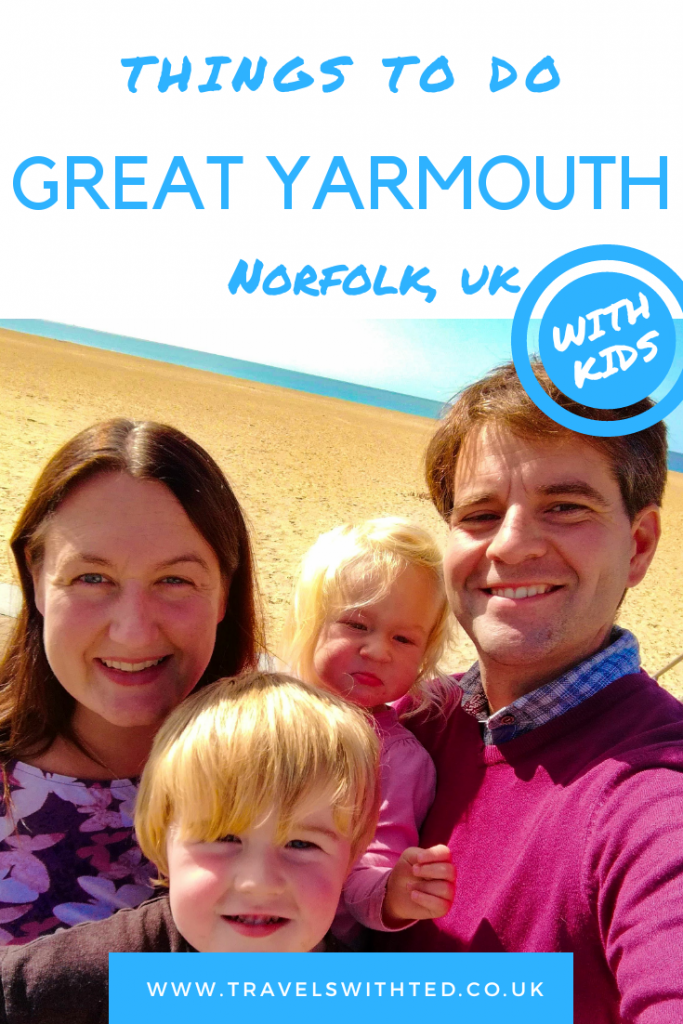 At least 7 things to do in Great Yarmouth, UK with kids. Beach fun, dinosaurs, SEA LIFE centre. #norfolkuk