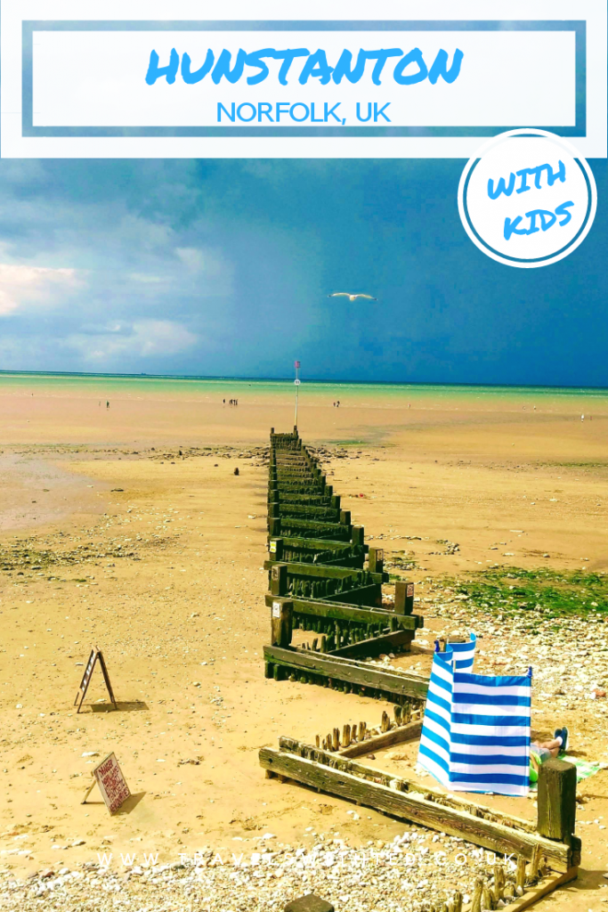 Top 10 things to do in Hunstanton, Norfolk. If you are wondering what to do in Hunstanton, Norfolk, UK then chick out this post. Includes the Wash Monster, SEA LIFE Centre, beach, cliffs and more. #norfolkuk #visitbritain #norfolk