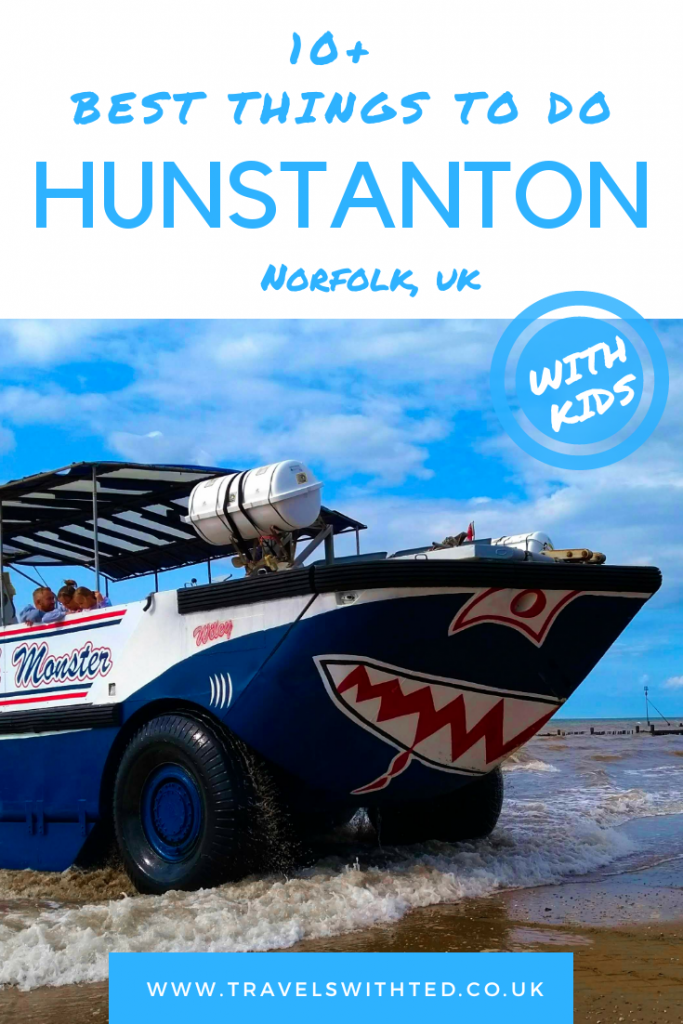 The Wash Monster is one of the Top 10 things to do in Hunstanton, Norfolk with kids. If you are wondering what to do in Hunstanton, Norfolk, UK then chick out this post. Includes the Wash Monster, SEA LIFE Centre, beach, cliffs and more. #norfolkuk #visitbritain #norfolk
