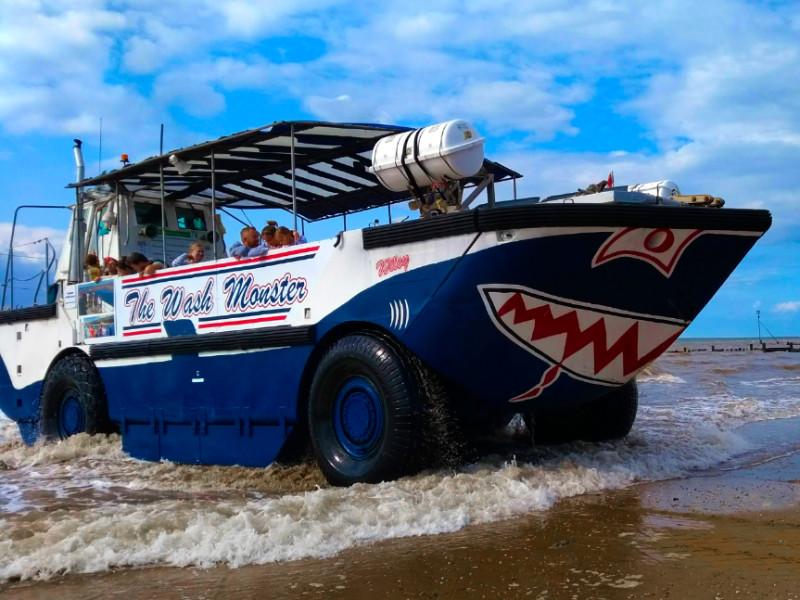 The Wash Monster on Hunstanton Beach