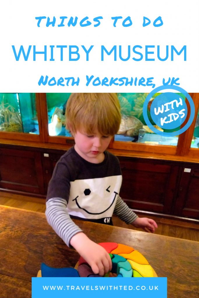 Whitby Museum in Whitby North Yorkshire. Fossils, Captain Cook and more.