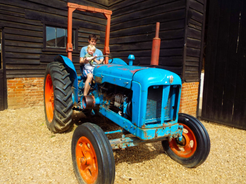 Old Tractor at Wimpole Farmyard