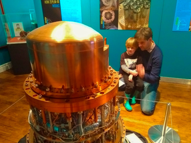 Zeplin III, Dark Matter Detector at Whitby Museum