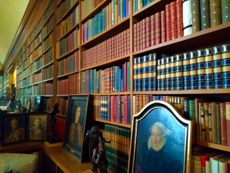 Anglesey Abbey Library