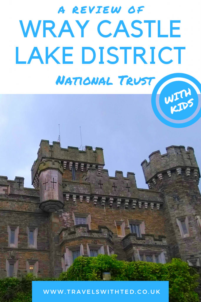 A visit to Wray Castle, a National Trust property in the Lake District. A castle designed to entertain the kids. A family day out in Cumbria. #familytravel #lakedistrict