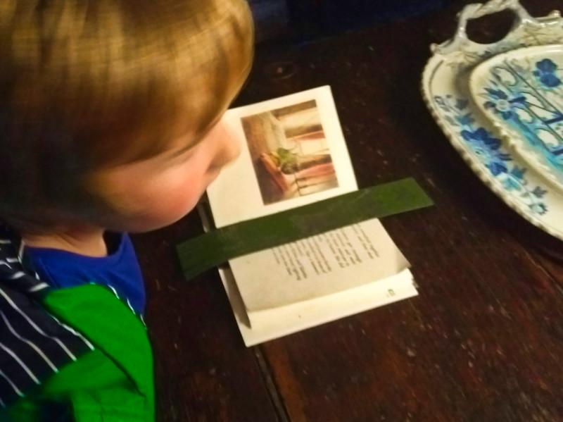 Reading at Beatrix Potter's Hill Top