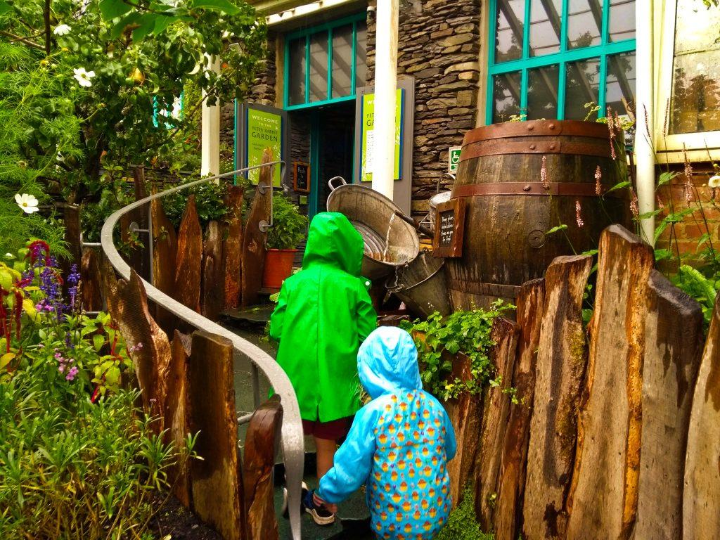 World of Beatrix Potter - Garden Area in the rain