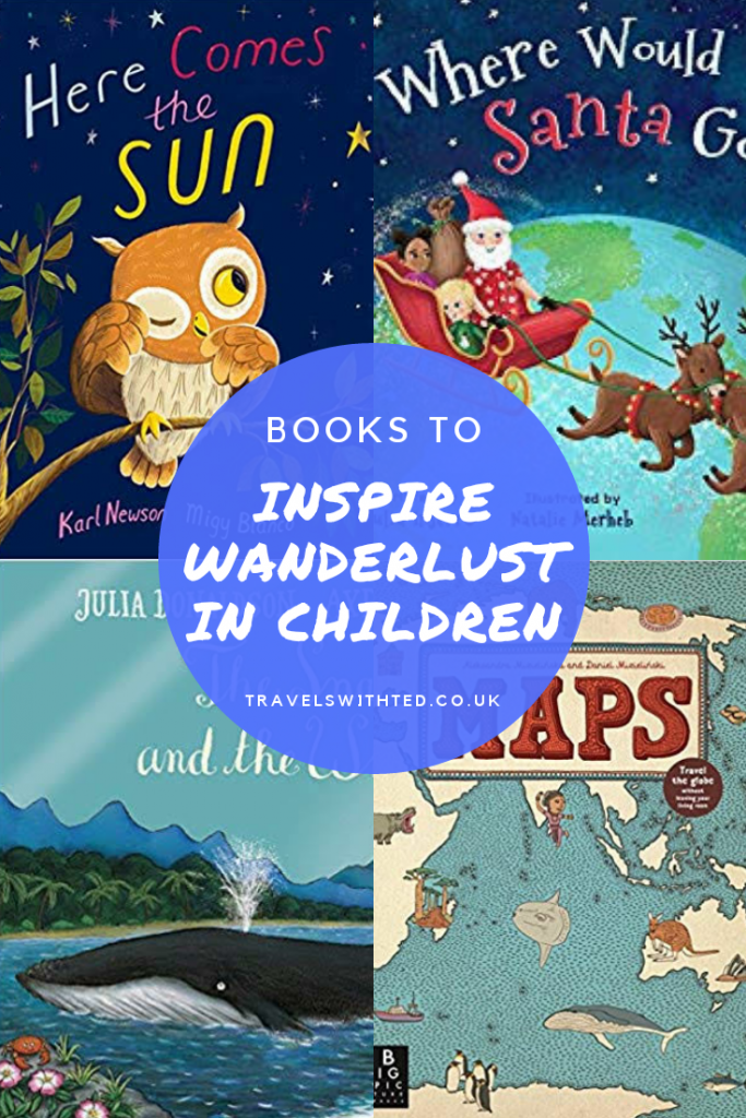 Books to Inspire Wanderlust in Small Children. Great picture books about travel.