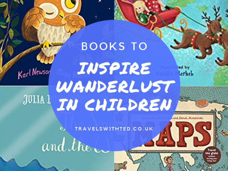Books to Inspire Wanderlust in Small Children