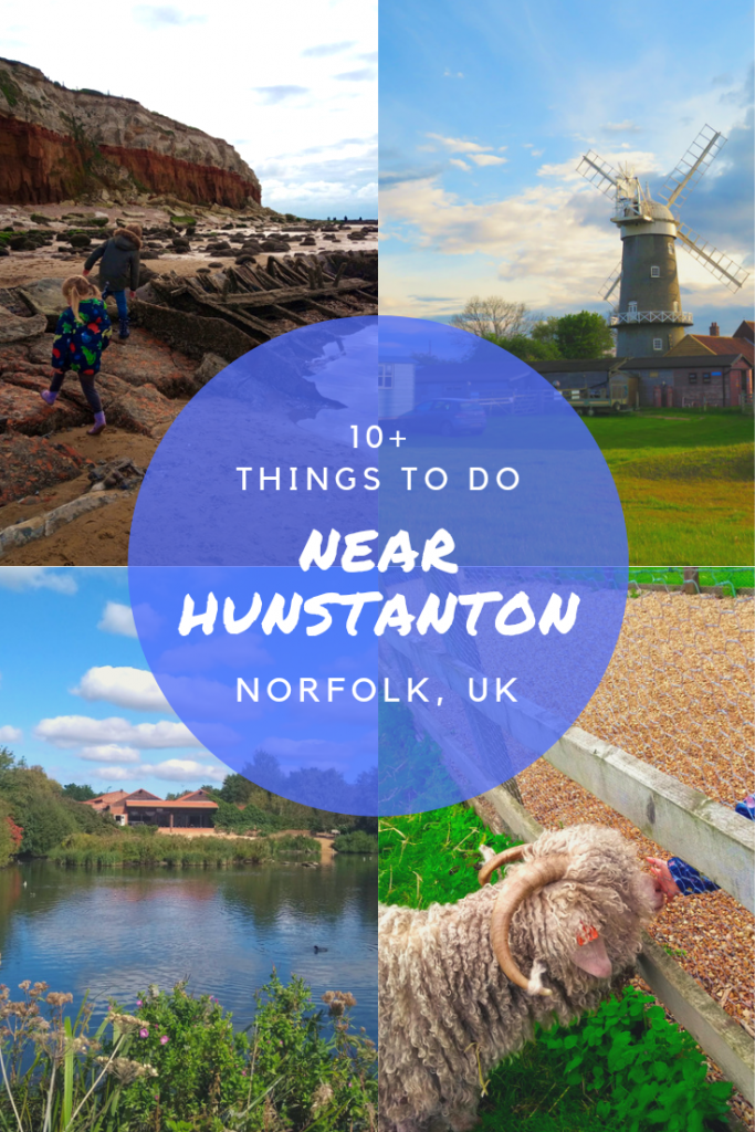 Things to do near Hunstanton, Norfolk Uk. Beaches, attractions. Walks and places to visit with kids or without. #Norfolk